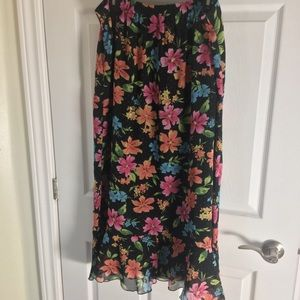 Summer floaty skirt unique reversible
